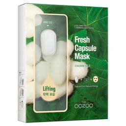 THE OOZOO Fresh Capsule Mask Cocoon Silk 1шт