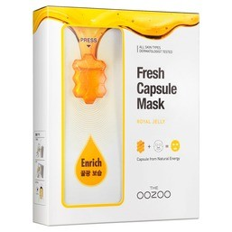 THE OOZOO Fresh Capsule Mask Royal Jelly 1шт