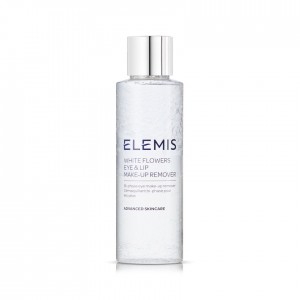ELEMIS Двухфазный лосьон  125 мл. White Flowers Eye & Lip Make-Up Remover.
