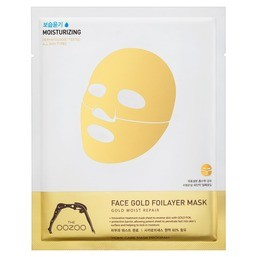 THE OOZOO Face gold foilayer mask 1 шт