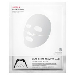 THE OOZOO Face silver foilayer mask 1шт